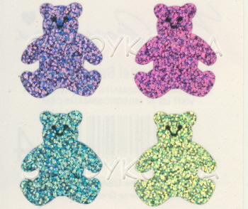 MG-Sparkle Pastel Bears 2